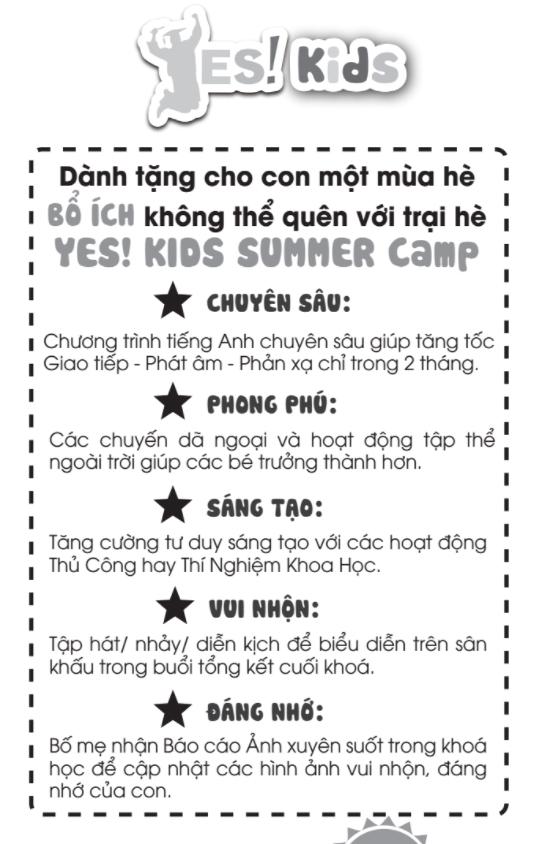 tiếng Anh hè 2017 | tiếng Anh trẻ em | vận động & trò chơi
